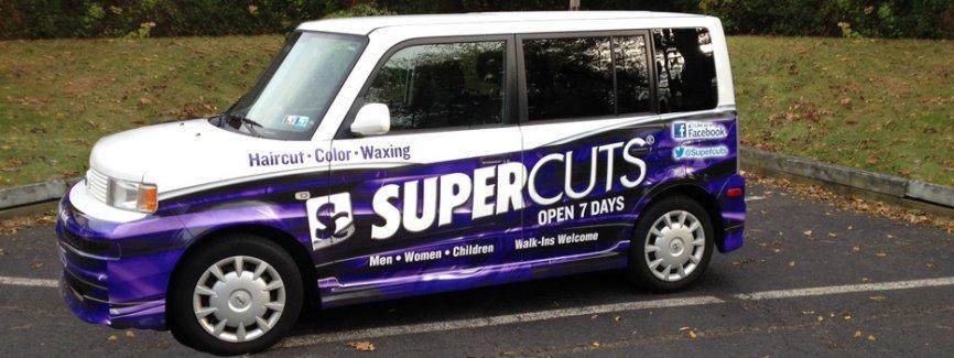 Supercuts Half Wrap
